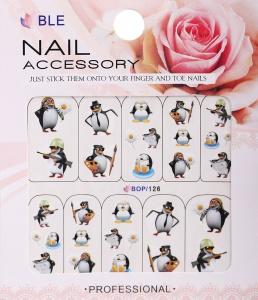 картинка Наклейки для ногтей водные широкие BOP-126 магазин Gumla.ru являющийся официальным дистрибьютором в России