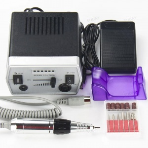 картинка Аппарат для маникюра Nail Power DR-288 (Черный) магазин Gumla.ru являющийся официальным дистрибьютором в России