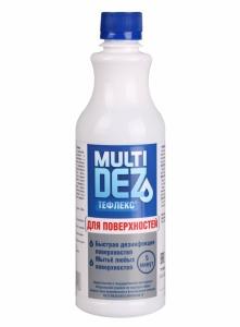 картинка Мультидез- Тефлекс для дезинфекции и мытья поверхностей (пробка) 0,5л магазин Gumla.ru являющийся официальным дистрибьютором в России
