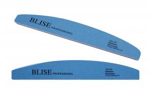 картинка BLISE- Пилка для ногтей синяя (банан) 120/120 магазин Gumla.ru являющийся официальным дистрибьютором в России