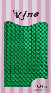 картинка Лента для дизайна (Зелёный голографик mix) магазин Gumla.ru являющийся официальным дистрибьютором в России