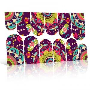 картинка Слайдер дизайн для ногтей SL-012 магазин Gumla.ru являющийся официальным дистрибьютором в России