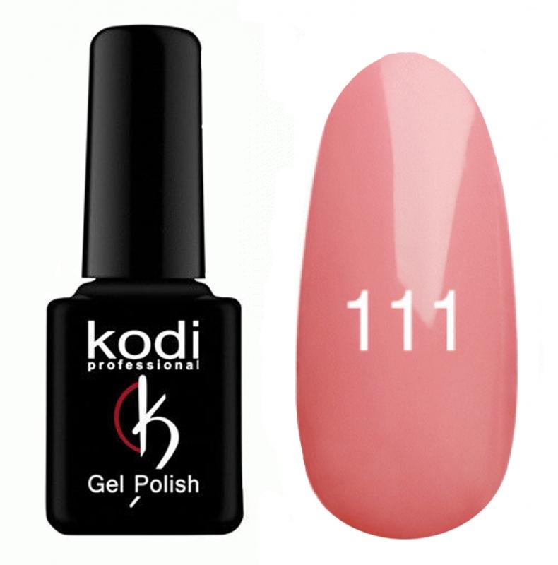 картинка Гель- лак Kodi - №111-Розово-персиковый 8ml от магазина Gumla.ru