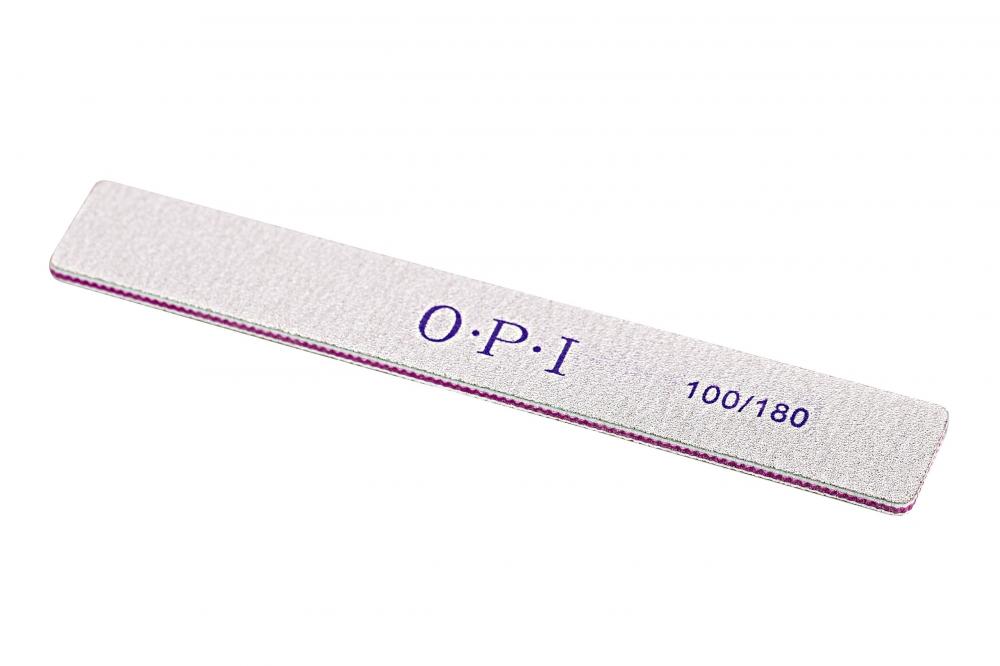 картинка OPI- Пилка для ногтей прямая широкая100/180 от магазина Gumla.ru