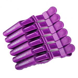 картинка TONI&GUY- Зажимы для волос (фиолетовые) магазин Gumla.ru являющийся официальным дистрибьютором в России
