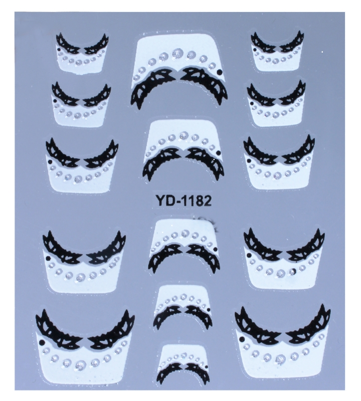 картинка Наклейки для дизайна ногтей 1182 от магазина Gumla.ru