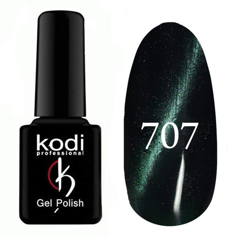 картинка Гель- лак Kodi Cat Eyei-№707-Зелёный от магазина Gumla.ru