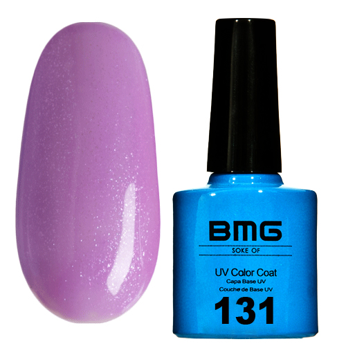картинка Гель-лак BMG – Сиреневый с голубо-серебрянным шимером от магазина Gumla.ru