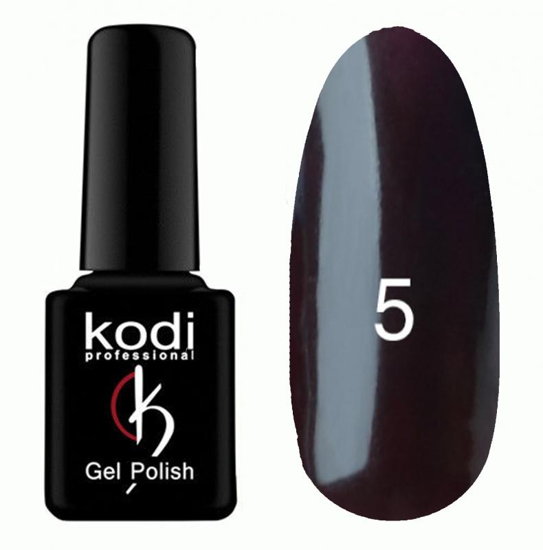 картинка Гель- лак Kodi - №005-Тёмно сливовый 8ml от магазина Gumla.ru