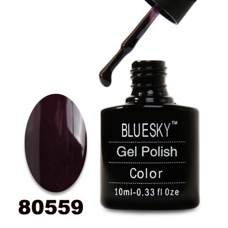 картинка Гель лак  Bluesky 80559-Темный баклажан,плотный от магазина Gumla.ru