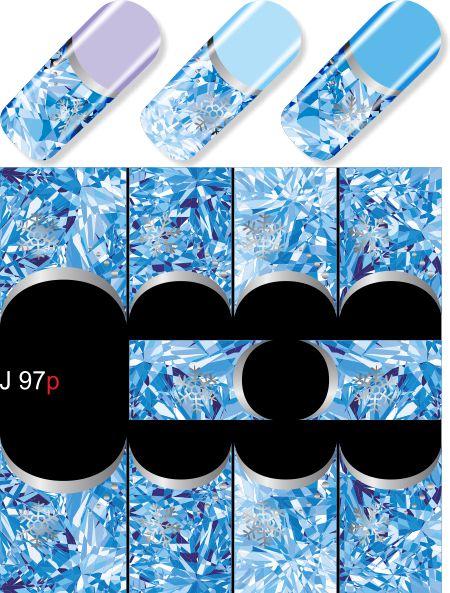 картинка Слайдер дизайн для ногтей Christmas 097 от магазина Gumla.ru