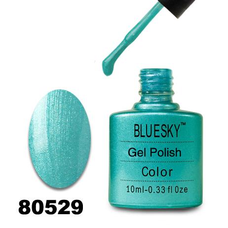 картинка Гель лак  Bluesky 80529-Бирюзовый,перламутровый от магазина Gumla.ru