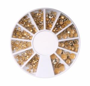 картинка Заклёпки золотые в карусельке магазин Gumla.ru являющийся официальным дистрибьютором в России