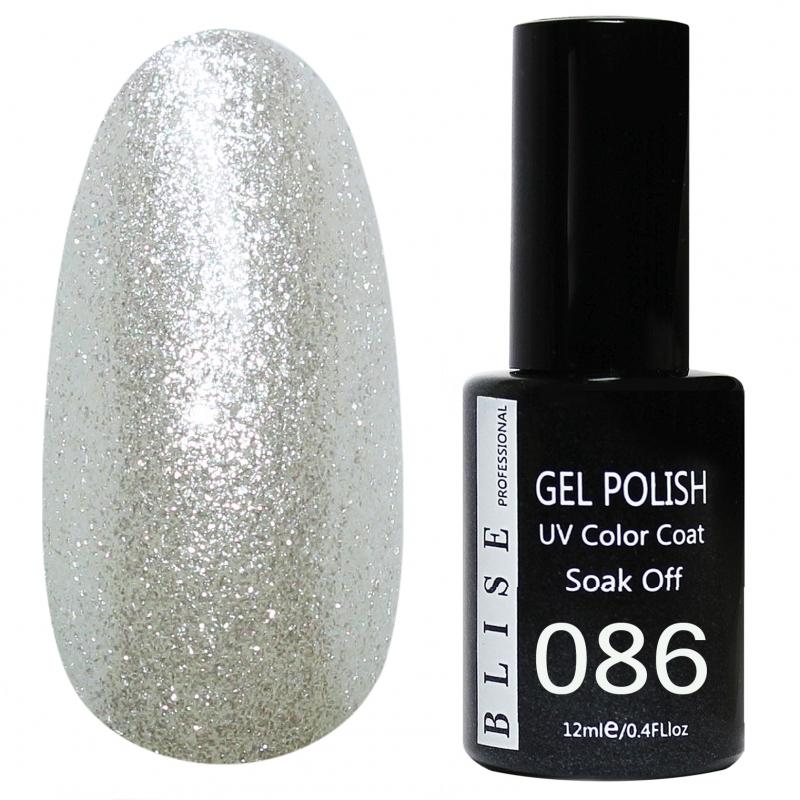 картинка Гель-лак BLISE 086- Жемчужный с микроблеском от магазина Gumla.ru
