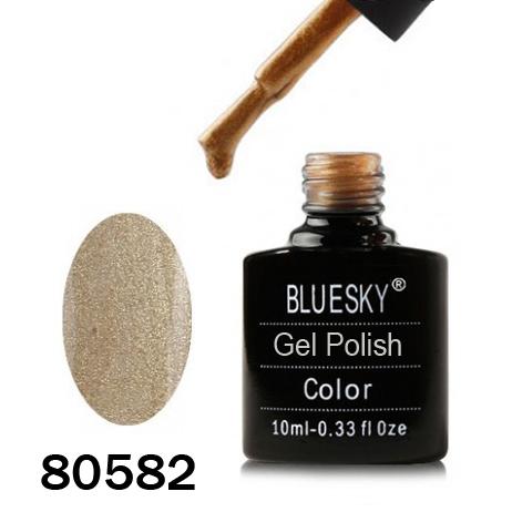 картинка Гель лак  Bluesky 80582-Золотой,металлический с микроблеском от магазина Gumla.ru