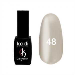 картинка Гель- лак Kodi - №048- бледно-песочный,эмаль 8ml магазин Gumla.ru являющийся официальным дистрибьютором в России