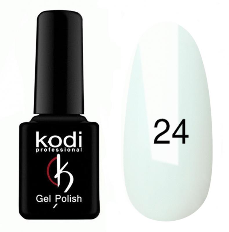картинка Гель- лак Kodi - №024-Белая эмаль 8ml от магазина Gumla.ru