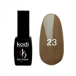 картинка Гель- лак Kodi - №023- коричневый эмаль 8ml магазин Gumla.ru являющийся официальным дистрибьютором в России