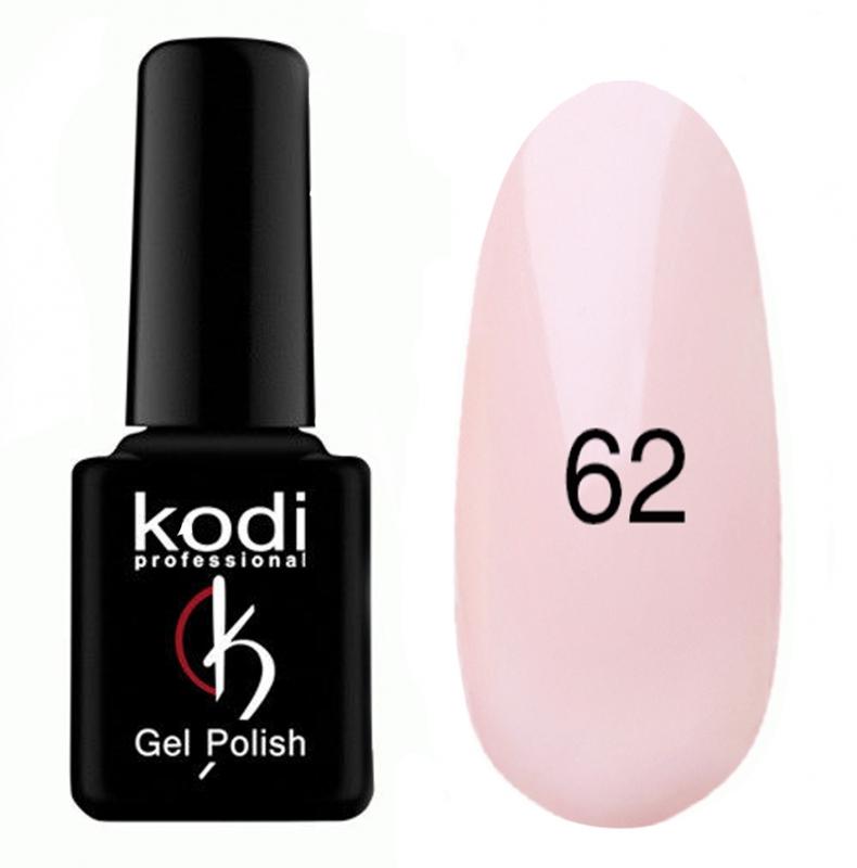 картинка Гель- лак Kodi - №062-Холодный бледно розовый 8ml от магазина Gumla.ru