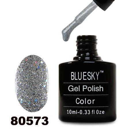 картинка Гель лак  Bluesky 80573-Прозрачный с голографическими блестками от магазина Gumla.ru