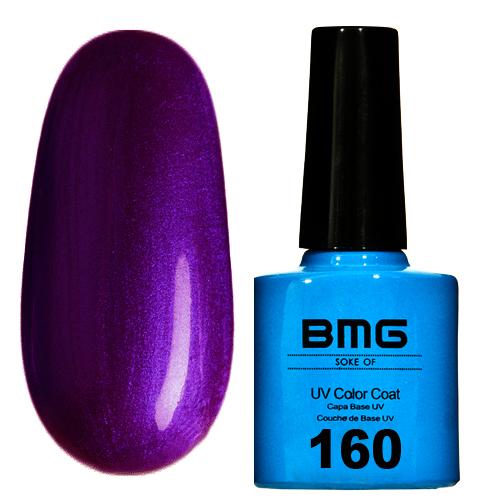 картинка Гель-лак BMG - Фиолетый с металлическим шимером от магазина Gumla.ru
