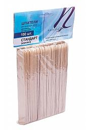 """картинка ITALWAX - Шпатели деревянные """"стандарт"""" 100 шт. магазин Gumla.ru являющийся официальным дистрибьютором в России"""