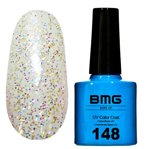 картинка Гель-лак BMG – Ванильное-мороженное с перламутровыми блесками от магазина Gumla.ru