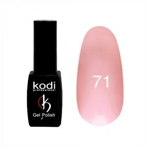 картинка Гель- лак Kodi - №071-молочно-розовый 8ml магазин Gumla.ru являющийся официальным дистрибьютором в России