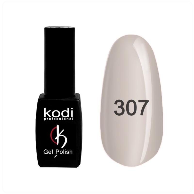 картинка Гель- лак Kodi - №307- розово-серый 8ml от магазина Gumla.ru