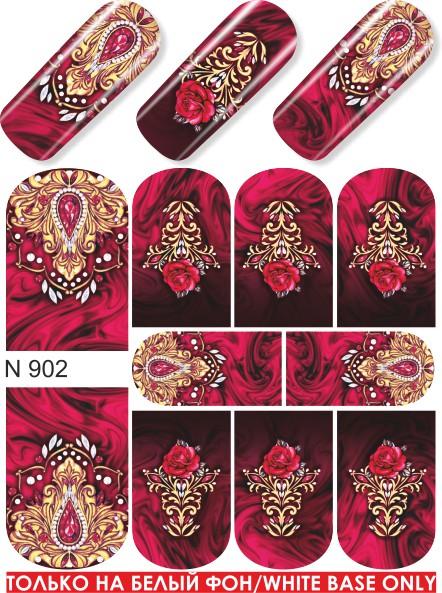 картинка Слайдер дизайн для ногтей 902 от магазина Gumla.ru