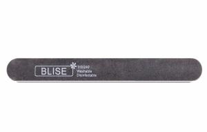картинка BLISE-Пилка прямая 180/240 черная/тонкая магазин Gumla.ru являющийся официальным дистрибьютором в России