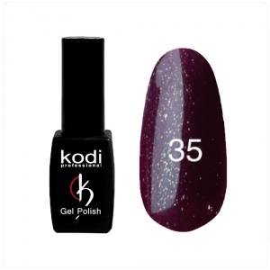 картинка Гель- лак Kodi - №035- темно бордовый с плотным блеском 8ml магазин Gumla.ru являющийся официальным дистрибьютором в России
