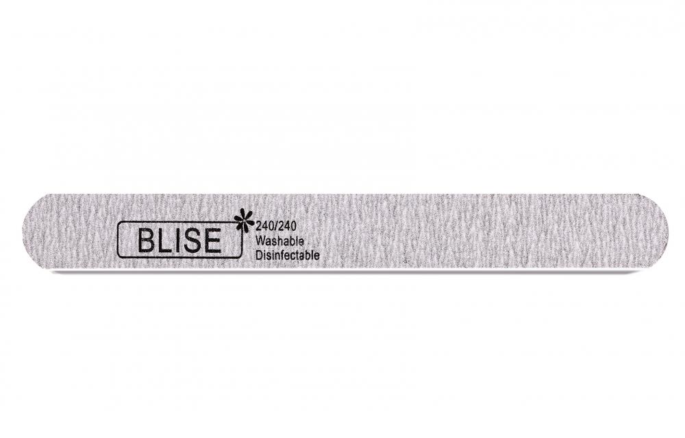 картинка BLISE-Пилка серая 240/240 прямая/тонкая от магазина Gumla.ru
