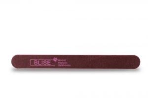 картинка BLISE- Пилка тонкая прямая 180/240 бордо магазин Gumla.ru являющийся официальным дистрибьютором в России