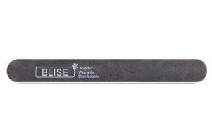 картинка BLISE-Пилка прямая 120/240 черная/тонкая магазин Gumla.ru являющийся официальным дистрибьютором в России