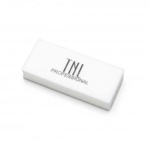 """картинка """"TNL""""- Баф medium- белый в индивидуальной упаковке  магазин Gumla.ru являющийся официальным дистрибьютором в России"""