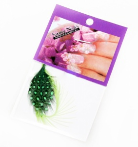 картинка Перья для дизайна ногтей1 магазин Gumla.ru являющийся официальным дистрибьютором в России