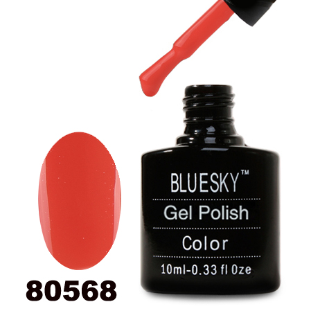 картинка Гель лак  Bluesky 80568-Теплый коралловый,эмаль от магазина Gumla.ru