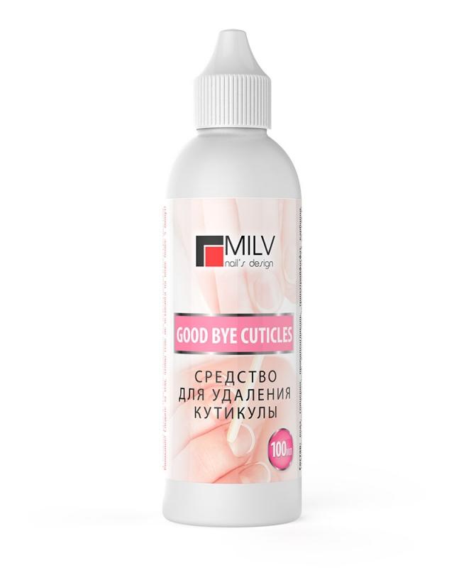 картинка Milv- Щелочное средство для удаления кутикулы 100 ml от магазина Gumla.ru