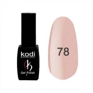 картинка Гель- лак Kodi - №078- молочный,светло-розовый 8ml магазин Gumla.ru являющийся официальным дистрибьютором в России