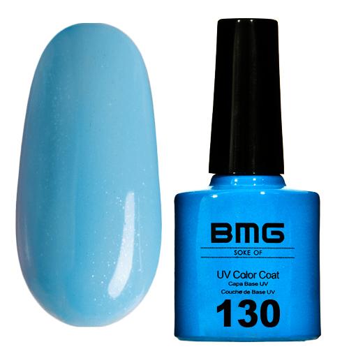 картинка Гель-лак BMG – Пастельно-голубой с снежным полупрозрачным шимером от магазина Gumla.ru