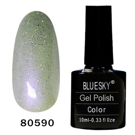 картинка Гель лак  Bluesky 80590-Перламутровый с блестками от магазина Gumla.ru