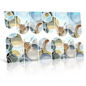 картинка Слайдер дизайн для ногтей 127 магазин Gumla.ru являющийся официальным дистрибьютором в России
