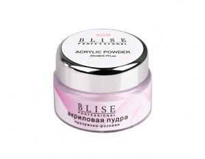 картинка Blise-акриловая пудра прозрачно-розовая магазин Gumla.ru являющийся официальным дистрибьютором в России
