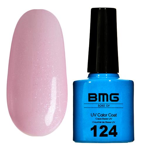 картинка Гель-лак BMG – Прозрачно розовый с перламутровым микроблеском от магазина Gumla.ru