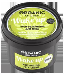 """картинка Organic Kitchen - Крем- увлажнение для лица """"Wake up"""" 100 мл магазин Gumla.ru являющийся официальным дистрибьютором в России"""