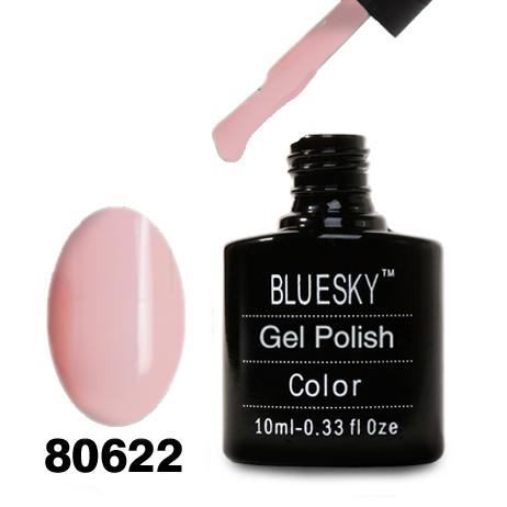 картинка Гель лак Bluesky 80622-Светло-розовый эмалевый нежный от магазина Gumla.ru