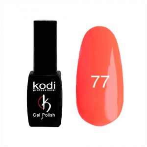 картинка Гель- лак Kodi - №077- неоновый,оранжевый 8ml магазин Gumla.ru являющийся официальным дистрибьютором в России