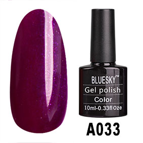 картинка Гель-лак BlueSky (Серия А) 033 магазин Gumla.ru являющийся официальным дистрибьютором в России