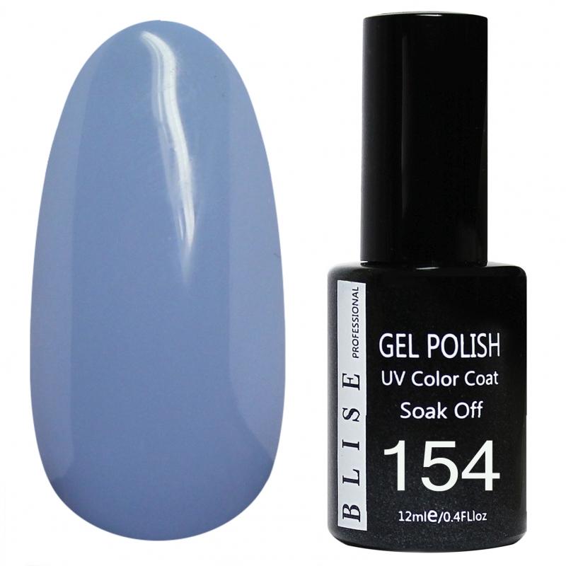 картинка Гель-лак BLISE 154- Бледно-серо-голубой от магазина Gumla.ru